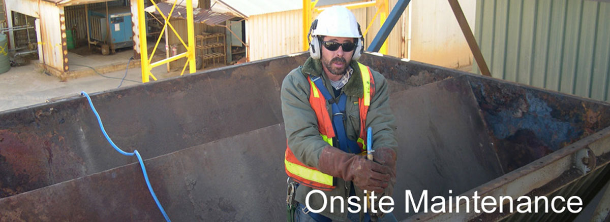 onsite machinery maintenanc